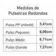 Kit  Cortadores para Modelagem de Pulseiras - 5 tamanhos