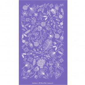 Soft Stencil - Tela Serigráfica Tema Botânica