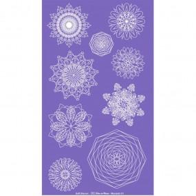 Soft Stencil - Tela Serigráfica Tema Mandala